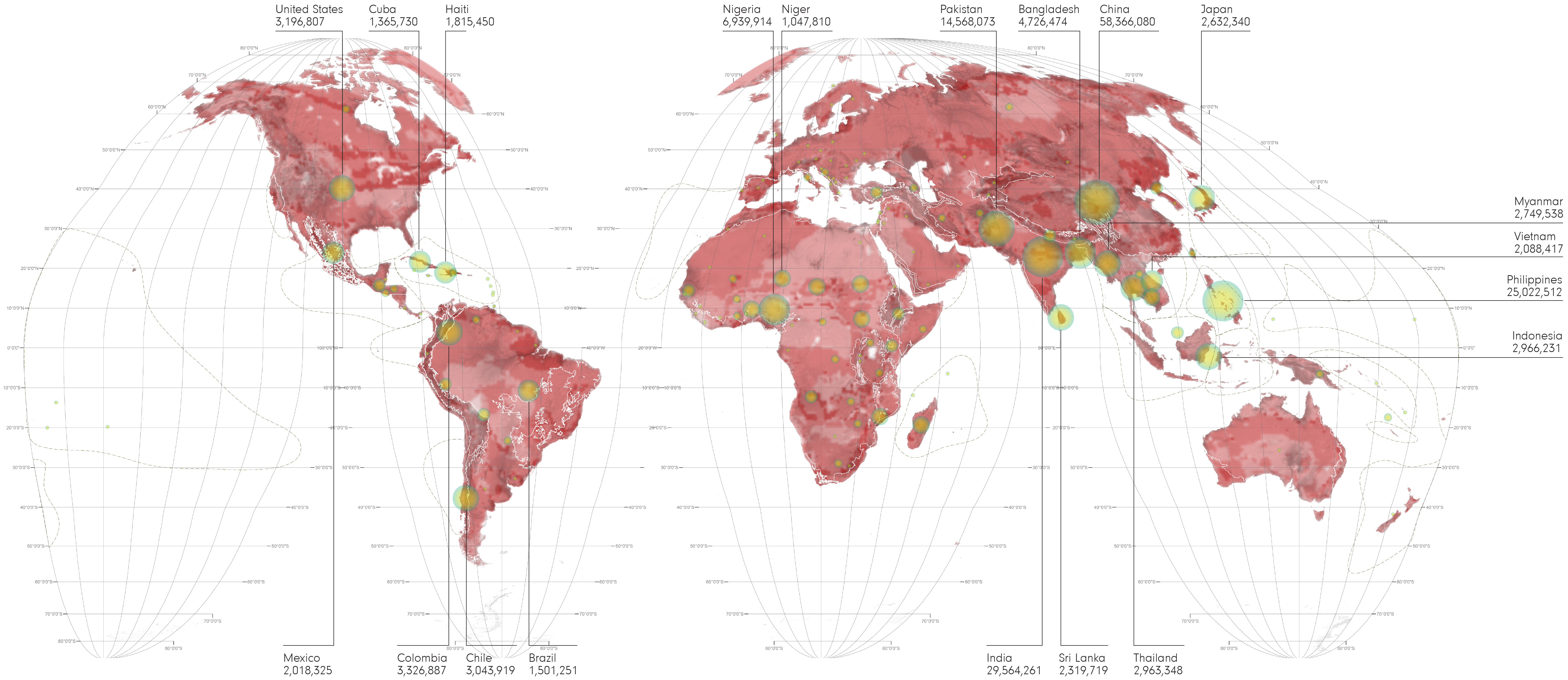 World maps environmental displacement environmental displacement gumiabroncs Image collections