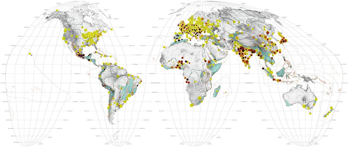AFEW - World Maps